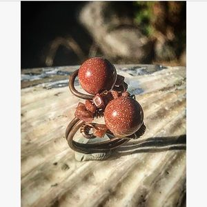 Star Jade ring copper